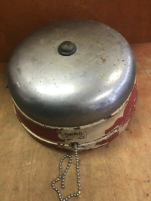 "Vintage Gamewell Fire Station Fire Alarm 10"" Bell Model M-1007"