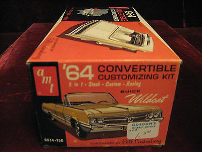 Rare MIB Collector 1st Orig Issue1964 Buick WILDCAT 3in1 Model/Kit 6514 AMT USA!