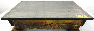 "24"" x 36"" Cast Iron Surface Fixture Layout Plate for Metalworking"