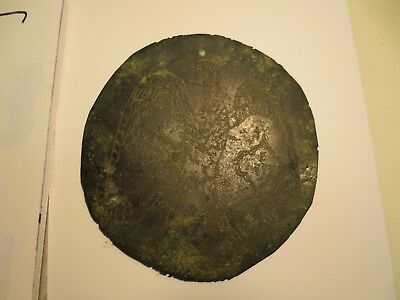 Rare Ancient Relic Persian Bronze Plate King Cyrus II engraved on as a Bird