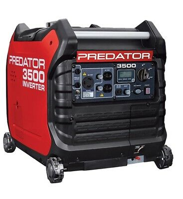 PREDATOR 3500 Watt Super Quiet Inverter Generator brand new