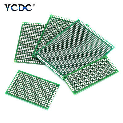 Double-sided Prototyping PCB Circuit Board Strip Breadboard For Arduino DIY D22