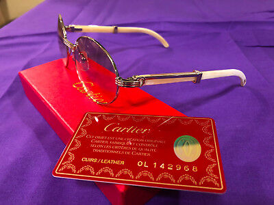 e1eca63705542 CARTIER White Buffalo Horn Sunglasses VINTAGE Old School   Just REDUCED