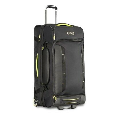 High Sierra 67927 AT8 81cm Drop Bottom Wheeled Duffel with Backpack Straps
