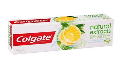 dentifrice Colgate Natural Extract Ultimate Fresh 75ml