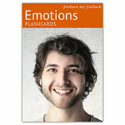 Autism ASD ADHD Dementia Educational Activity Feelings and Emotions Flashcards
