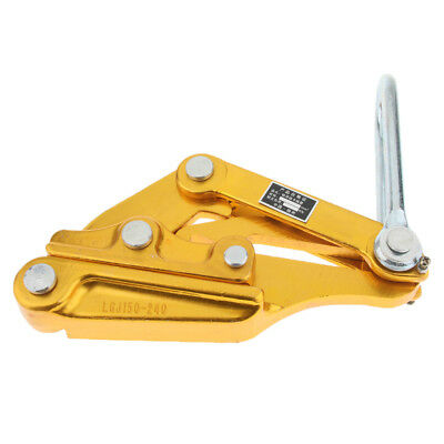 Cable Wire Rope Grip Puller for Strand Wire Tightening Pulling (30KN)150-240