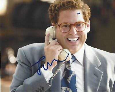 Jonah Hill Signed 8x10 Wolf Of Wall Street