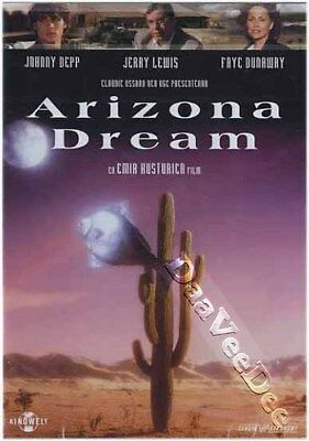 Arizona Dream NEW PAL Arthouse DVD Emir Kusturica Johnny Depp Jerry Lewis