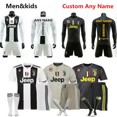 1819 Adult Kids Football Team Outfit Soccer Kit Jersey Christmas Customized Gift