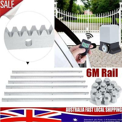 6M Rail Track for 550w 1200kg Automatic Sliding Electric Gate Opener 1200KG AU