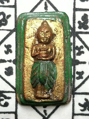 Kumanthong Phra LP Thai Amulet Monk Buddha Talisman Powerful Magic Rich Wealthy