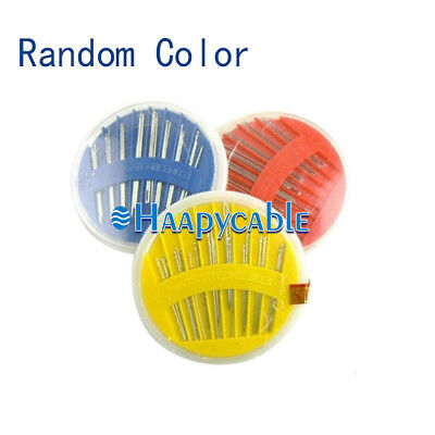 New 30 Assorted Sewing Needles Case Hand Household Mending Tailoring Embroidery