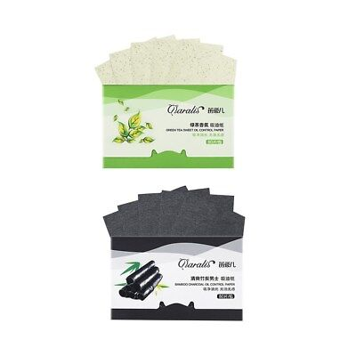 2 Packungen Oil absorbing sheets Blotting paper Absorbent Tool Oil control