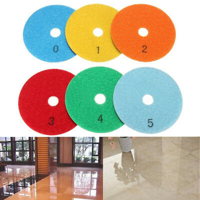Wet Dry Diamond Polishing Pads 4 Inch Set Kit Granite Marble Concrete 6 PIECES