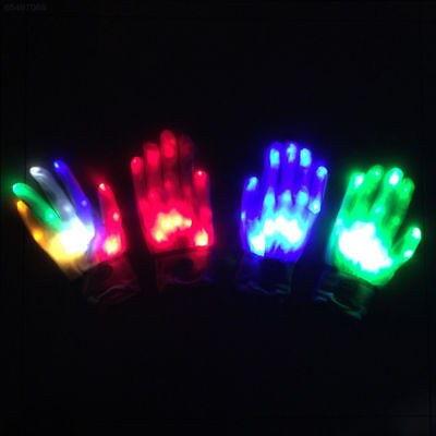 Back To Search Resultsapparel Accessories Girl's Accessories Led Rave Flashing Glove 1 Piece Glow 7 Mode Light Up Finger Tip Lighting Black Vd New Hot Glove