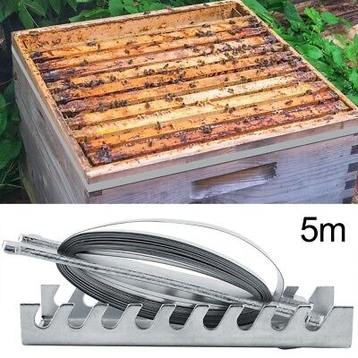 Durable Hive Beehive Strapping Fastener with 5 Meters Fastener Metal Hive Tools