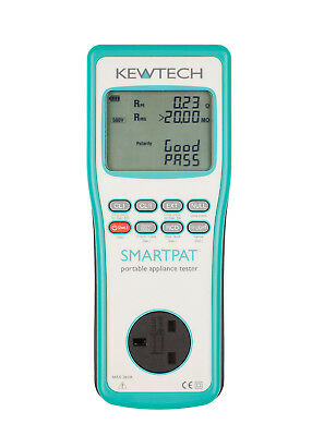 Kewtech - SMARTPAT - PAT Tester - BRAND NEW PRODUCT LAUNCH FROM KEWTECH