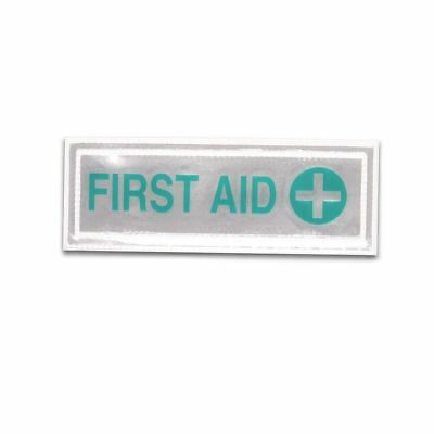 Reflective First Aid Badge [Small, Green]