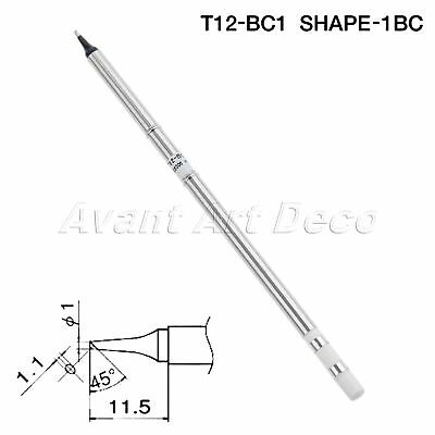 XA High Grade T12-BC1 Replace Soldering Iron Tip for T12 Soldering Station 1pc