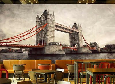 Century Of Old Bridge 3D Full Wall Mural Photo Wallpaper Print Home Kids Decor