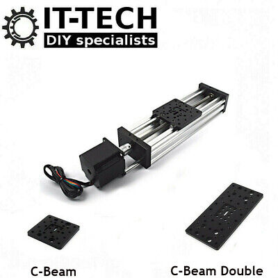 C-Beam X Y Z Axis Movement Linear Actuator with Stepper Motor CNC 3D Printer