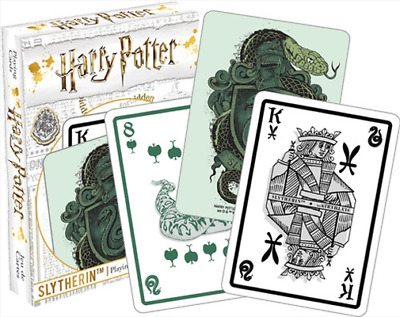 Harry Potter - Slytherin Playing Cards Deck Brand New