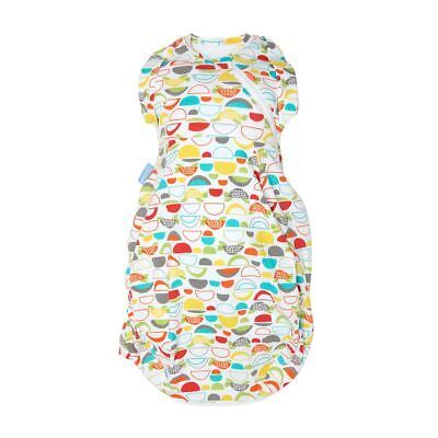 Talking Turtles Gro-Snug 2-in-1 Swaddle and Grobag - Hip-Healthy, Newborn, Cosy