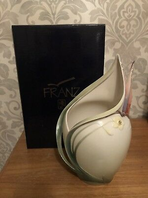 Franz Porcelain Butterfly Wine Cooler  FZ00752