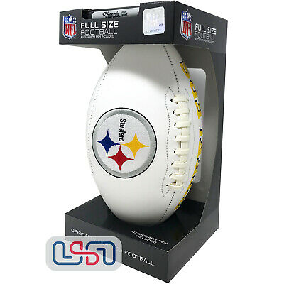 ffd65aafe69 Pittsburgh Steelers Signature Series NFL Official Licensed Football - Full  Size
