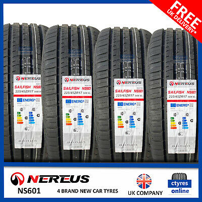 New 225 45 17 94W XL EVENT POTENTUM HP 225/45R17 2254517 *C/B RATED* (2,4 TYRES)