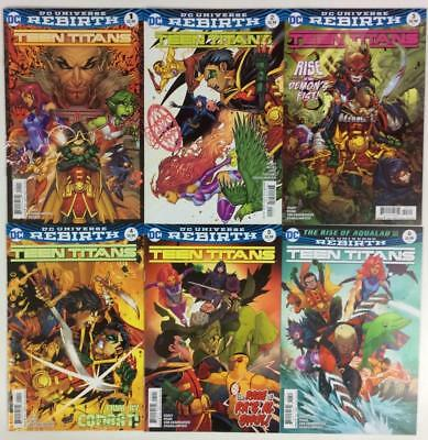 Teen Titans #1 to #12 all A covers. Near complete run of 11 (DC 2016) high grade