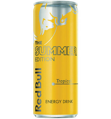 Red Bull Cans Summer 250ml x 24