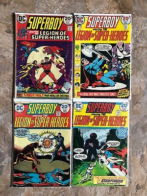 Superboy Legion Of Super-Heroes #197 198 200-213 215 Huge Key Comic Book Lot DC