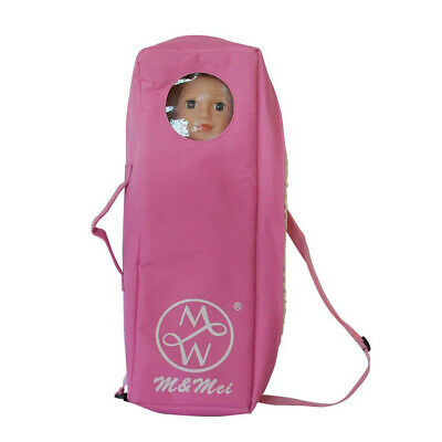 Baoblaze 18inch Doll Travel Suitcase for American Girl Doll Carry Bag Case