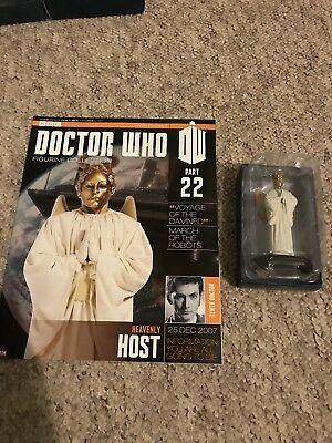 Bbc Series Doctor Who Dr Issue 22 Heavenly Host Eaglemoss Figure Collectables