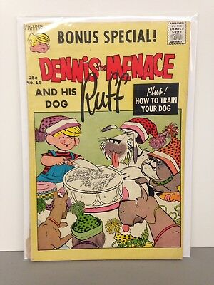 Dennis The Menace And His Dog Ruff 1961 #41 Comic Book GD+ to GD/VG