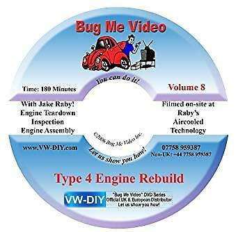 VW Repair Bug Me Video Type 4 Engine Rebuild Volume 8 # CPR012197