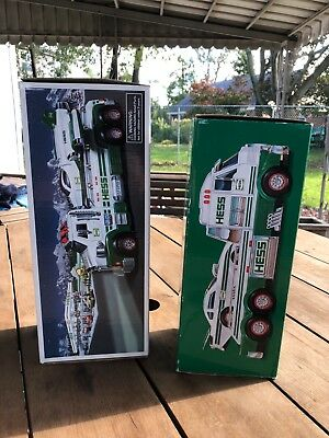 2016 Hess Toy Truck and Dragster -2014 Hess truck