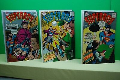Superboy #148-149-150   VG/FN 5.0 DC Silver Age Classic 1968!!!