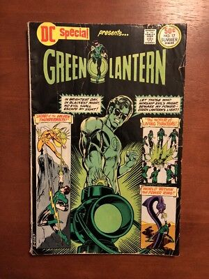 DC Special #17 (1976) 5.0 VG DC Key Issue Comic Book Bronze Age Green Lantern