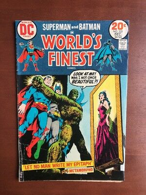 World's Finest Comics #220 (1973) 6.0 FN DC Key Issue Bronze Age Batman Superman