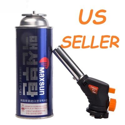 New Big Multipurpose Gas Torch Head Flamethrower One Touch 1300 °C, 2400 °F