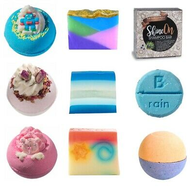 Bath Bombs by Bomb Cosmetics 160g - gift - Buy 4 and get 10 Mini Bath Bombs FREE
