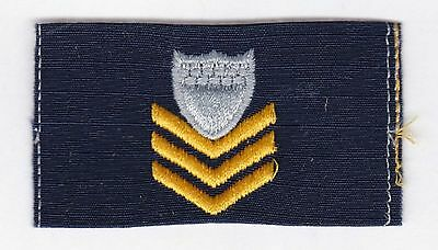 U.s. Coast Guard  Petty Officer First Class Odu Collar Chevron (Single)