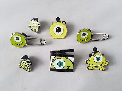 Disney Trading Pins Official Monsters Inc Lot of 7 Collectible