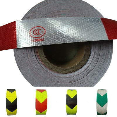 EG_ Arrow Reflective Tape Truck Bicycle Safety Caution Warning Adhesive Sticker