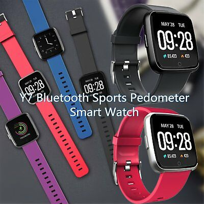 Y7 Bluetooth Sports Pedometer Smart Bracelet Watch Fitness Activity Tracker S4