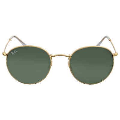 44233d45fc RAY BAN GREEN Classic G-15 Round Metal Sunglasses -  107.99