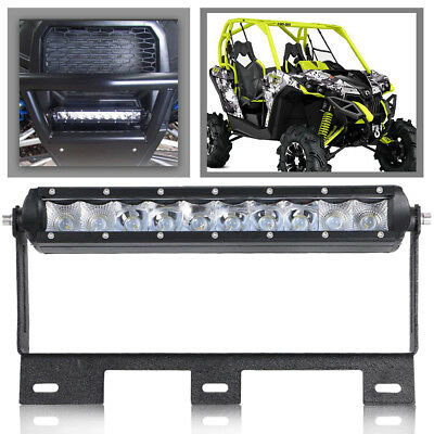 "SINGLE ROW 10""LED LIGHT BAR Mounting Brackets For 2014-2016 Can-Am Maverick X DS"